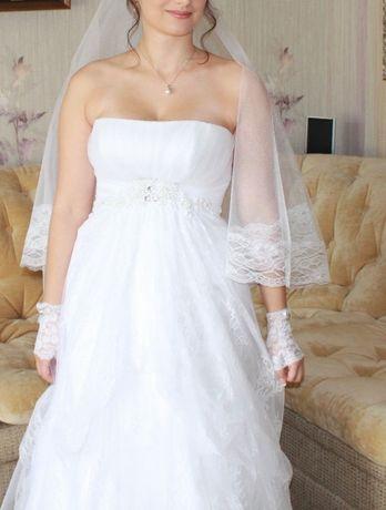 Свадебное платье р.36-38