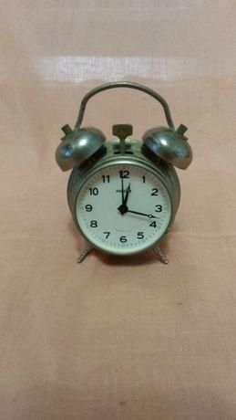 Часы будильник Ракета СССР