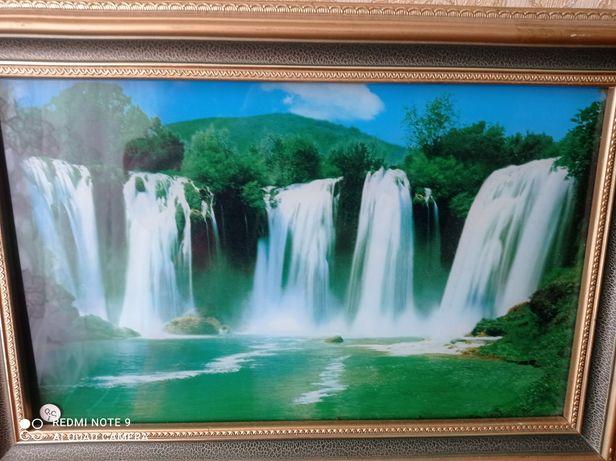 "Картина ""Водопад"", музыкальная"