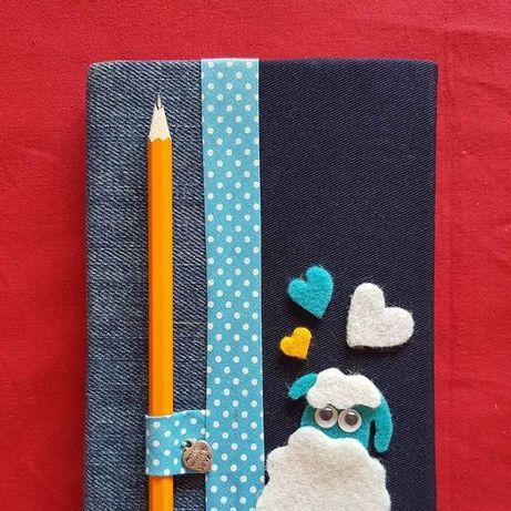 Caderno artesanal novo