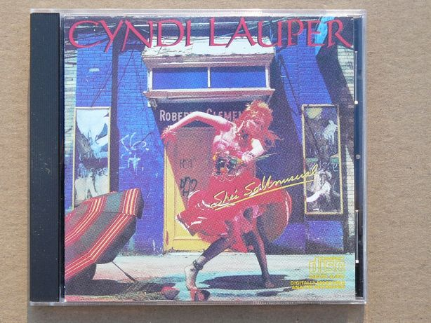 cd Cyndi Lauper - She's So Unusual 1983 wyd.USA/Kanada poster