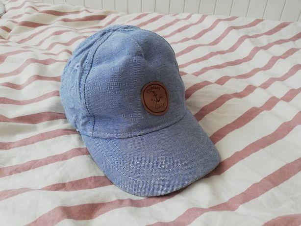 Niebieska czapka z daszkiem hm h&m