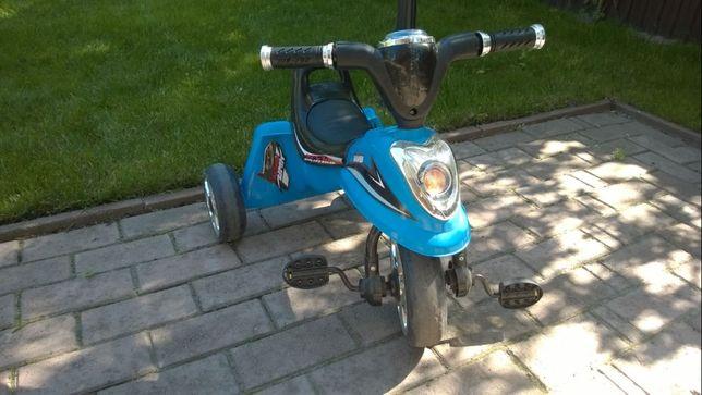 Дитячий велосипед BAMBI, по тіпу мотоцикла, стан нового!
