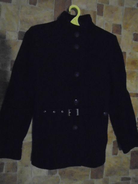 Пальто 42-44розміру, демисезон, чорне