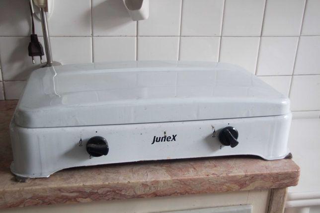 Fogão com dois bicos, Junex, de gás natural