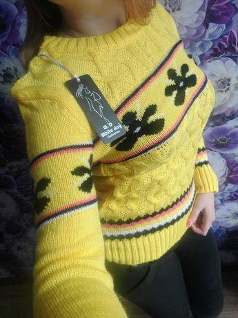 Зимний новый свитер