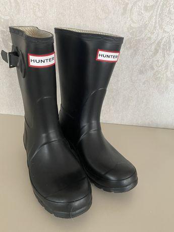 Новые сапоги Hunter размер 36