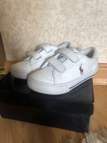 Ralph Lauren детские кроссовки для мальчика,девочки 24.5 размер(8t)