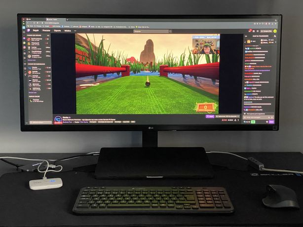 Monitor LG UltraWide 34