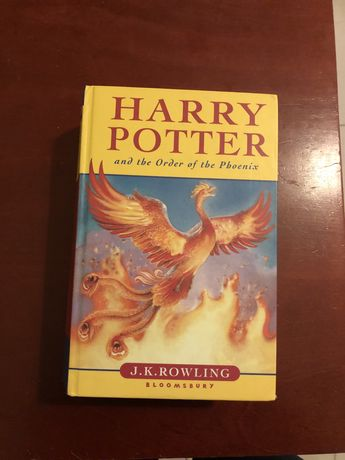 Harry Potter ENG angielski Order of the Phoenix Zakon Feniksa