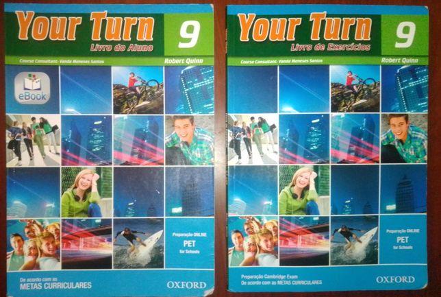 Your Turn 9 ano- manual+caderno atividades inglês