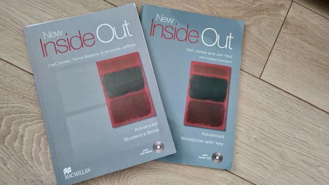 New Inside Out Advanced student's book workbook podręcznik ćwiczenia
