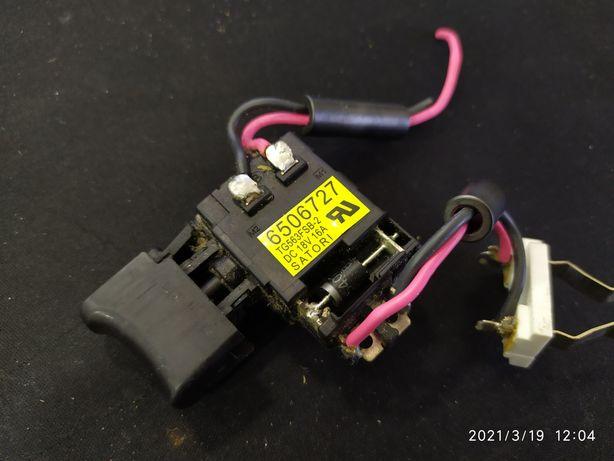 Włącznik wkrętarki makita, TG563FSB-2  18V 16A
