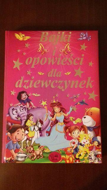 Bajki dla dziewczynek, piękna książka jak nowa