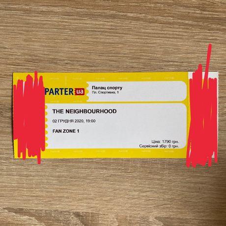 The Neighbourhood 2022 продам билет