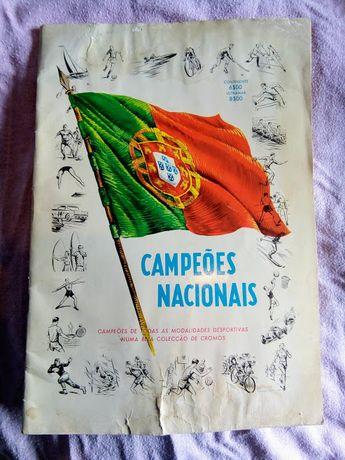 Caderneta Campeões Nacionais - Vazia