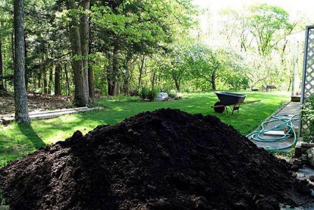 Чернозем для ландшафтного дизайна подсыпка перегной работаем по област
