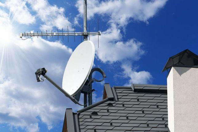 Установка,ремонт, настройка спутникового ТВ: Viasat, EXTRA-TV,Т2, IPTV