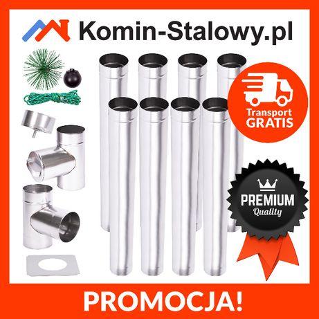 Wkład Kominowy Okrągły do Komina Fi120/8m/0,6mm - Kwasoodporny Okazja