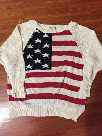 Camisola bandeira americana