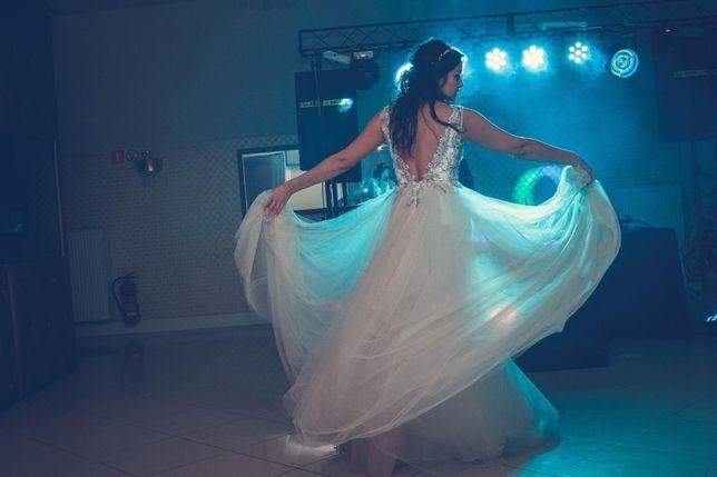 Piękna suknia ślubna Ida Torez Lanisadeta 38