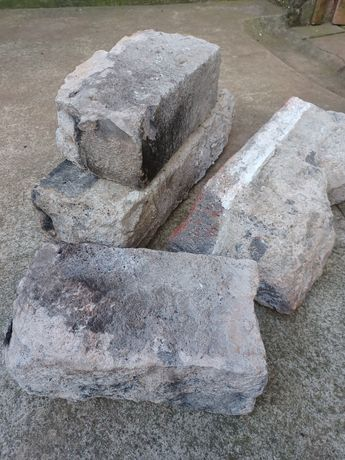 Pedra antiga da frente de forno de lenha