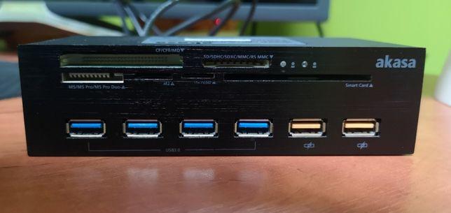 Czytnik Akasa Interconnect EX Internal (AK-HC-07BK)