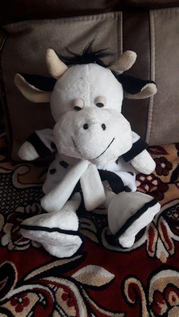 Игрушка мягенькая корова