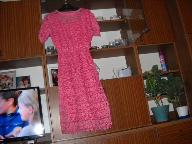 Sprzedam Różową sukienkę Idealna dla każej Pani na każdą okazje
