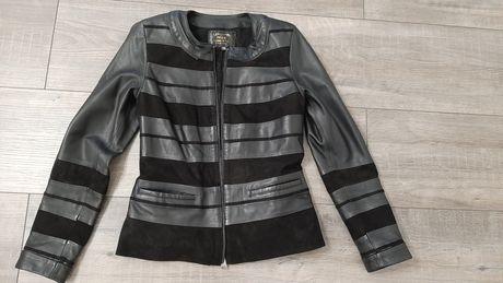 Куртка, ветровка кожаная