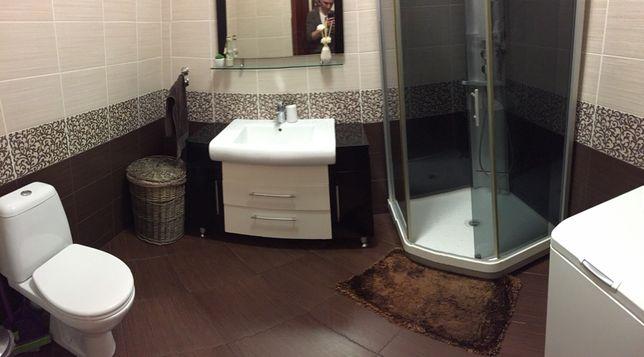 Продам душевую кабинку IDO, тумбу с умывальником и смесителем, зеркало