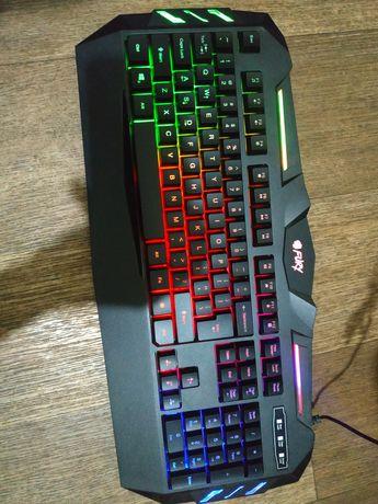 Fury. Клавиатура, мышь, коврик. Игровой комплект