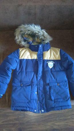 Тёплая куртка на мальчика KappAhl 6-7 лет 128