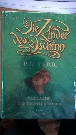 Niemiecka Ksiazka Das Rätsel der neunten Kobra