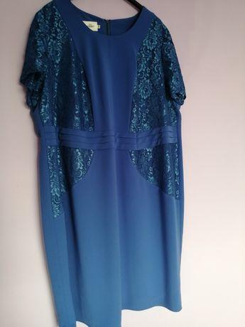Elegancka sukienka rozm. 56