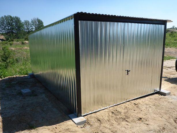 Garaż blaszany Blaszak na budowę 3x5 Najtaniej Garaże PRODUCENT garaży