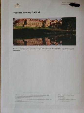 Voutcher na 2000 zł w hotelu Dolinia Charlotte niedaleko Ustki.