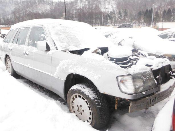 Mercedes W124 2,0 drzwi prawe przednie, części FV transport/dostawa