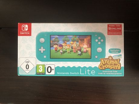 Nintendo Switch Lite + Animal Crossing NOVA