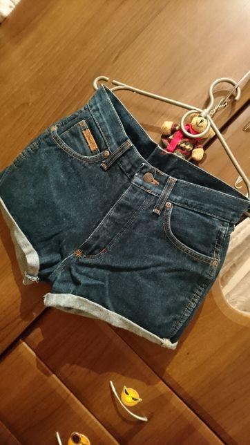 Акция Шорты джинсовые высокая посадка
