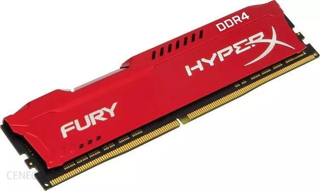 HyperX 8GB (1x8GB) 2666MHz CL16 Fury Red