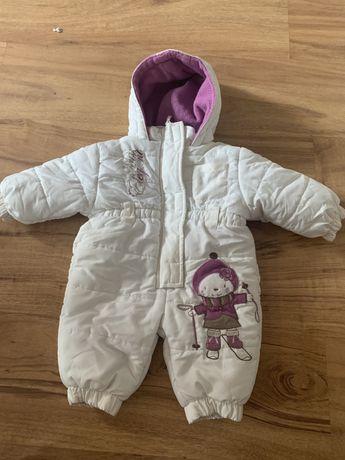 Zimowy kombinezon dla dziewczynki 62 cm