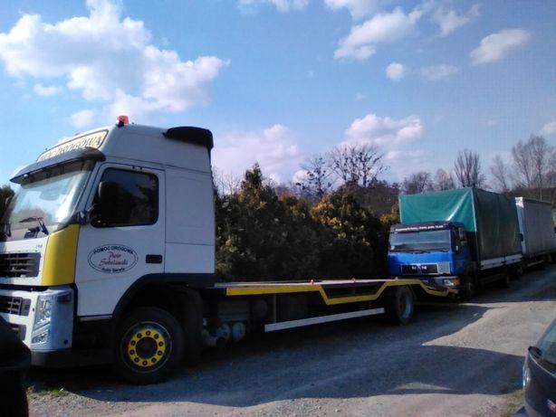 Volvo Pomoc Drogowa Laweta Holownik Zabudowa Z Zagłębieniami Ład 10Ton