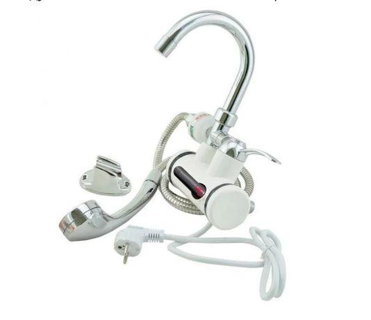 Проточный водонагреватель/бойлер с душем MP5201 3 кВт. Нижнее/боковое