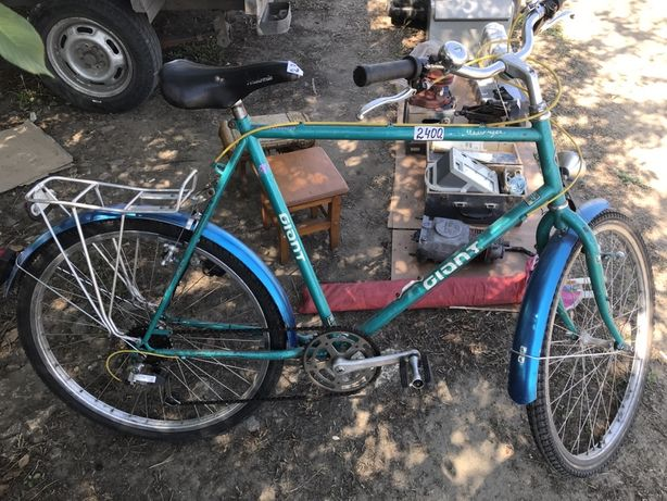 Немецкий Велосипед GIANT 6 передач