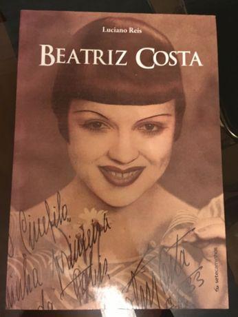 Beatriz Costa, livro de Luciano Reis