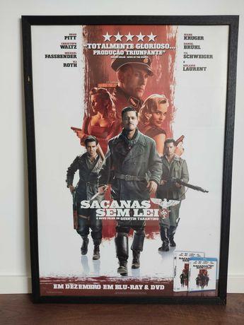 Poster Emoldurado SACANAS SEM LEI - Inglourious Basterds.