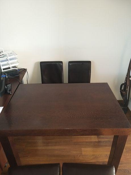 Stół venge +4 stołki