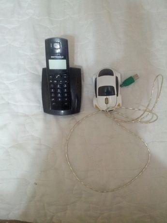 Радио телефон Моторолла мышка