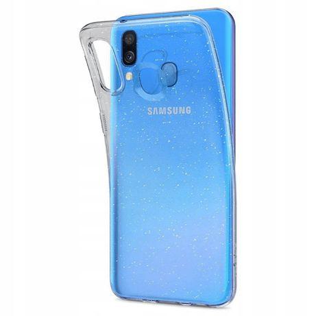 Etui brokatowe Spigen Liquid Crystal Glitter Samsung Galaxy A40